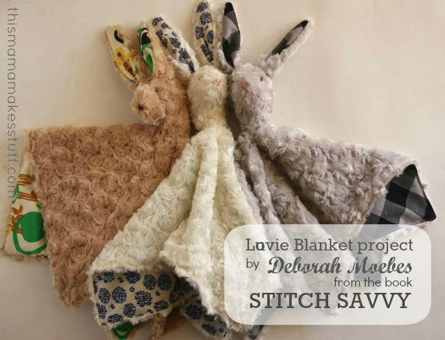Lovie Blankets - Part stuffed animal and part blankie