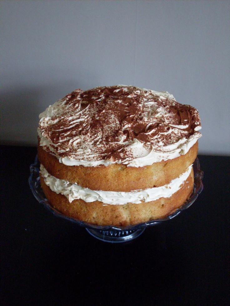 Mmmmm, cappuccino cake!