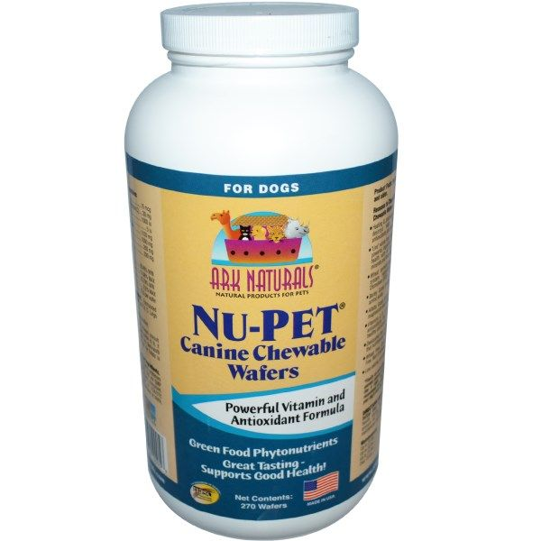 Canine Chewable Wafers, For Dogs: Keep your dogs healthy! Since taking Ark Naturals, neither of my dogs have gotten colds. And the dog that had giardia twice, has never gotten it again. Absolutely fantastic!