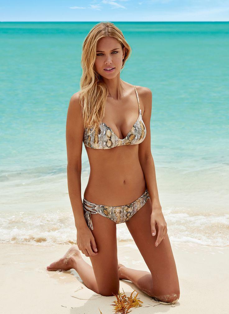 MELISSA ODABASH Melbourne bikini top FQVAAE