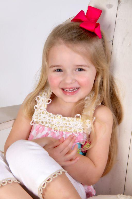 """Sweet Smiles"" Portrait Creations Professional Children's Studio in Charlotte, NC."