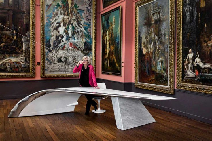 This Desk Is Created From The Wing Of A 737 Boeing Jet - http://www.interiorredesignseminar.com/decorating/this-desk-is-created-from-the-wing-of-a-737-boeing-jet/