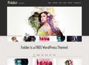 Template Folder WordPress Theme