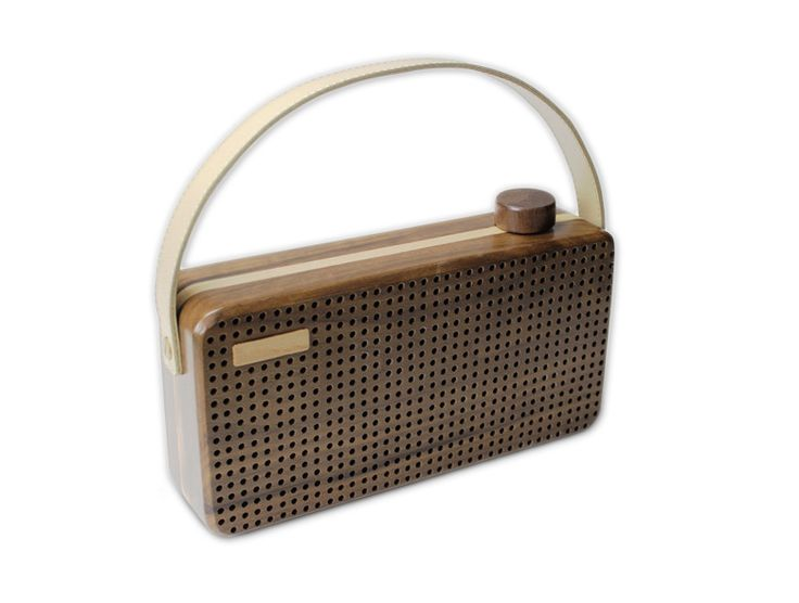 Wood speaker. Other colors available.