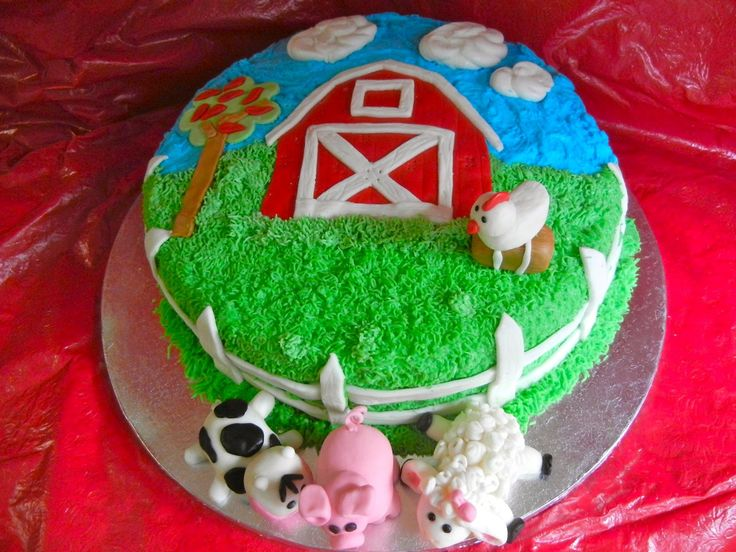 Kristen's Cupcakery: Old McDonald Had a Farm