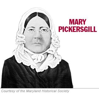 Learn about Mary Pickersgill, the Baltimore seamstress who created the original Star-Spangled Banner