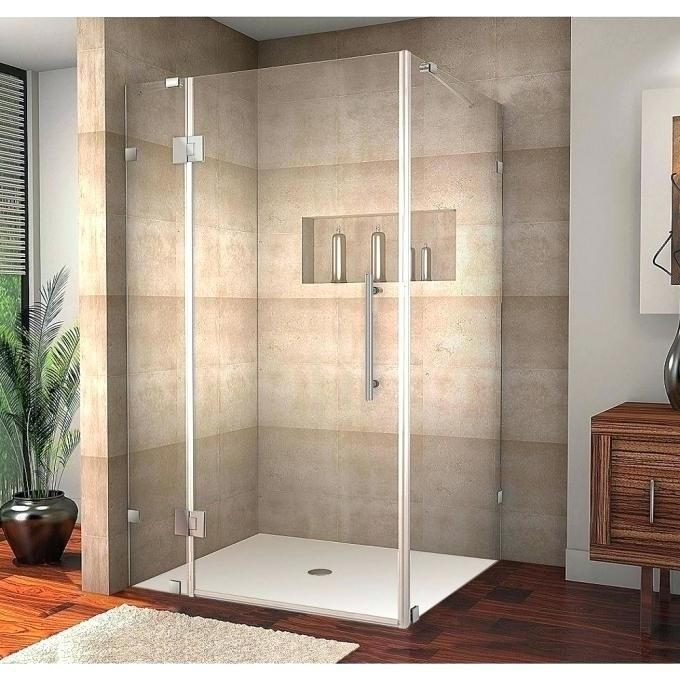 30 Corner Shower Stall In X In Semi Framed Corner X Shower Stall