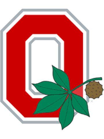 Ohio State Buckeye Leaf cakepins.com
