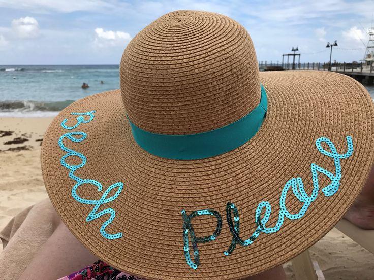 Pin de Kylie Pace em Cruuuuuuise Chapéu de praia, Chapéu