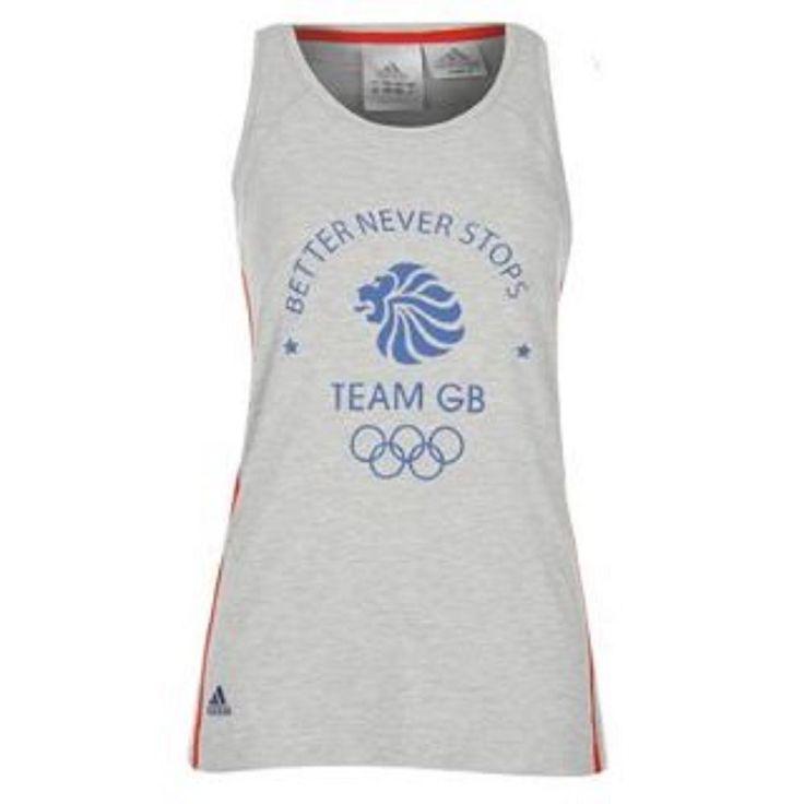 adidas Olympics Team GB Tank / Vest Top for Ladies