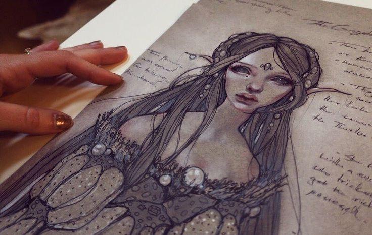 regram @krztns My wonderer #past #character #concept #sketching #indigame #AronsGift #ps4 #inktalestudios