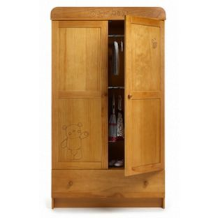Buy Obaby B Is For Bear Double Wardrobe   Country Pine At Argos.co.