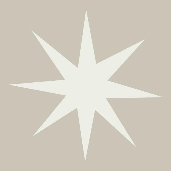 8 Point Star Stencil