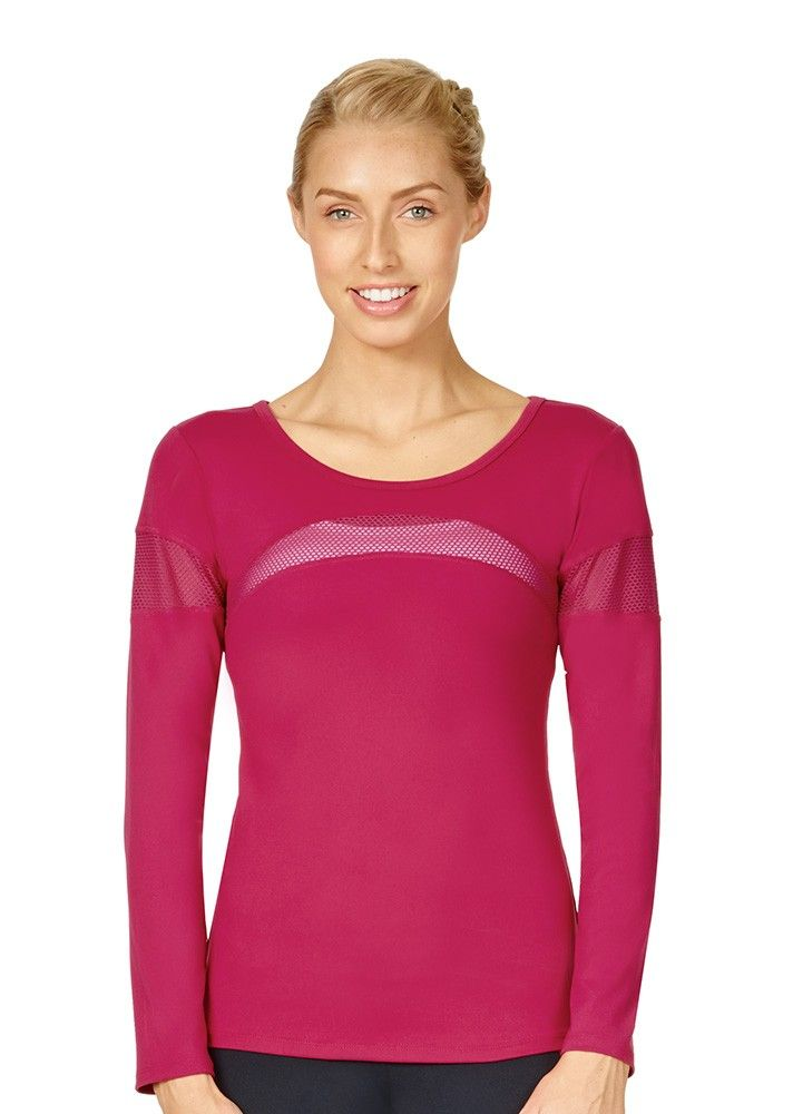 Wave Long Sleeve Active Tee