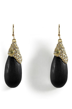 ALEXIS BITTAR: Black With Gold, Beautiful Jewelry, Black Dresses, Jewelry Watches, Jewelry Fav, Glitzi Ritzi, Golden Noir, Jewelry Pieces, Jewelry Boxes