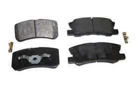 Crown Automotive Rear Brake Pad Set 68028671AA Disc Brake Pads. Price: $40.71; Shipping: Calculated at checkout.