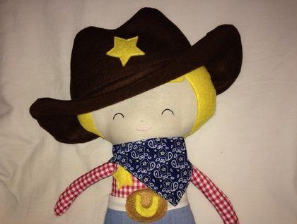 BIG cowboy doll - ready for adoption