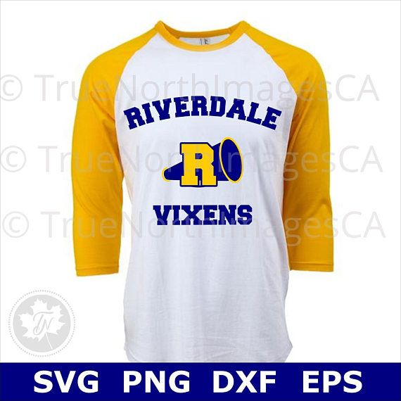 Riverdale Vixens Cheer SVG/PNG/DXf/EPS Cut file for Cricut
