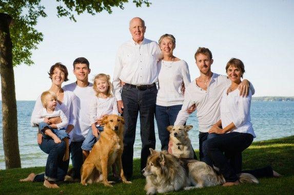 Multi-generational family photo