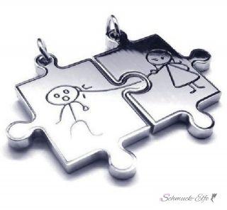 Partner Ketten COMIC  Puzzle Edelstahl inkl. Ketten im...