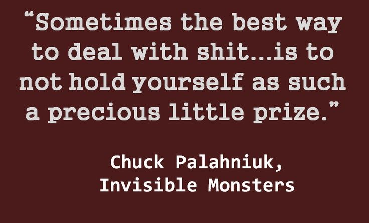Invisible Monsters | Quotes that I like. | Pinterest