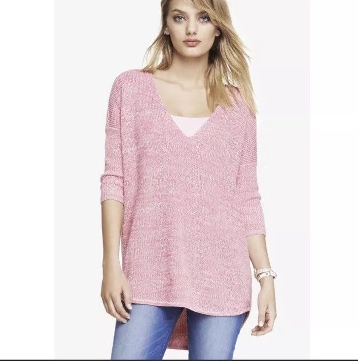863640ad418 Express Womens S Pink Oversized Dolman Sleeve Sweater #Express ...