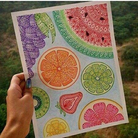 #wow  #fruity  #cool ♡♡♡