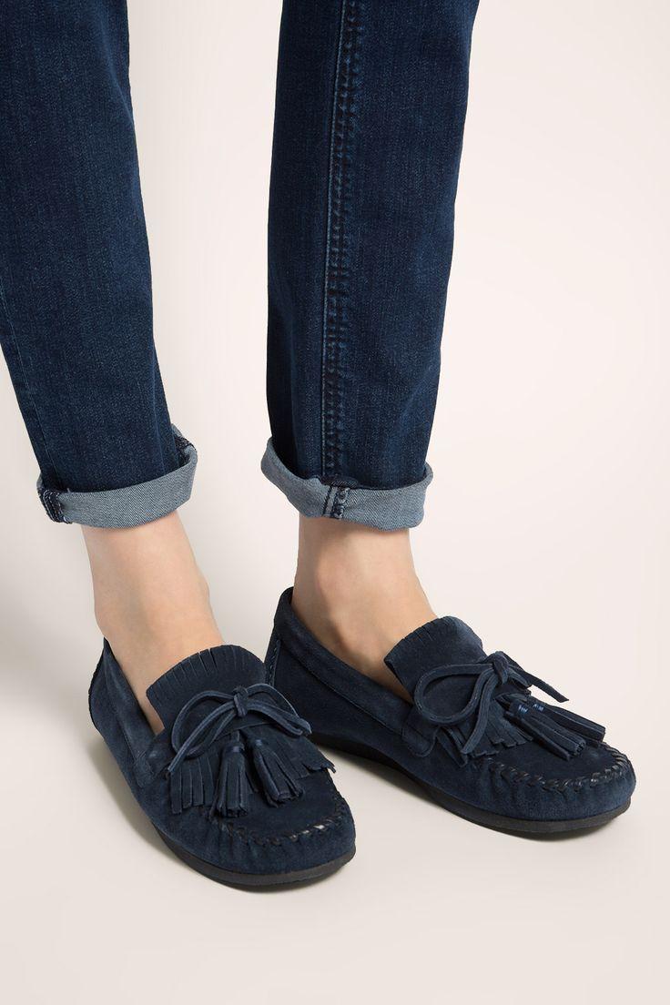 Esprit - Suede fashion loafer at our Online Shop