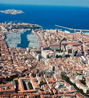 City of Marseille in France...I studied abroad here and it is beautiful!