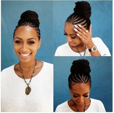 Light braid in general serve as a protective hairstyle at this period but the hairstyle to carry at this point would be the African braids or as many of us