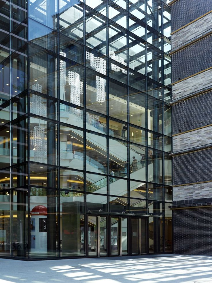High Performance Glass Facade : Renoma the biggest department store in wrocław poland