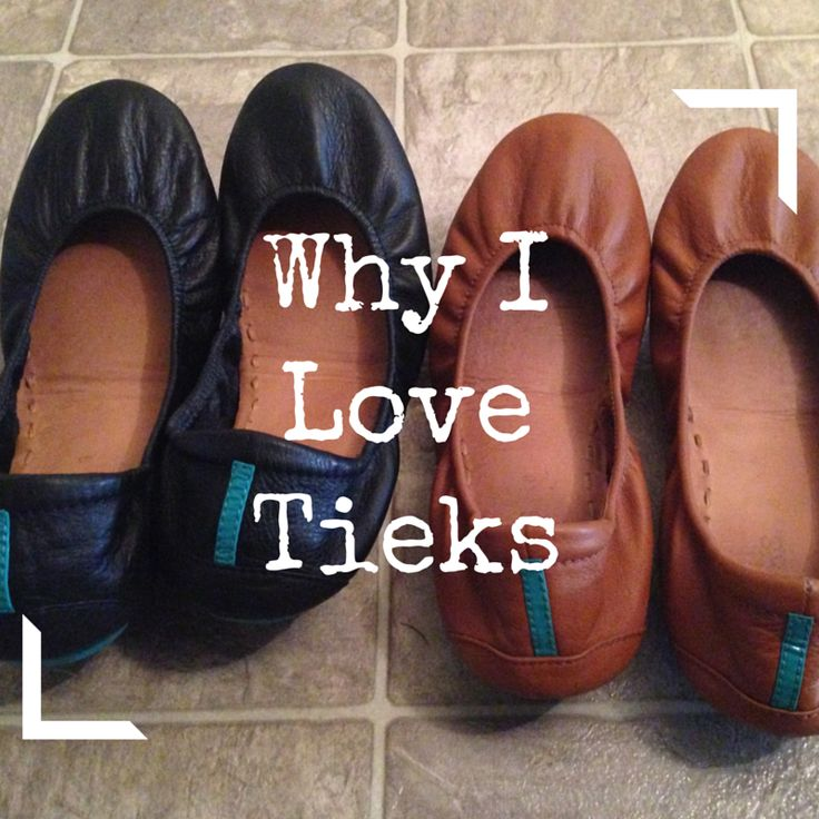 Tieks are the most comfortable shoe ever!