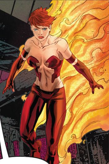 Jean Grey in the Age Of Apocalypse in Uncanny X-Force