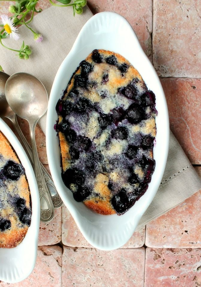 Blueberry Cake for Two - Bunny's Warm Oven