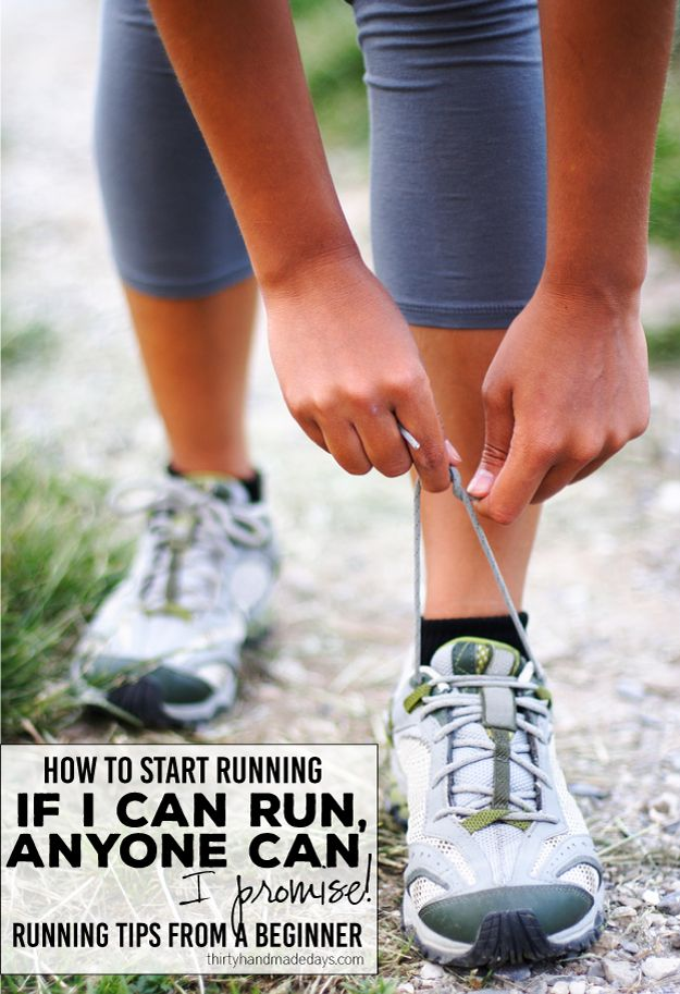 Running tips from a beginner - if I can run, anyone can! I promise. Tips and tricks for how to get into running.