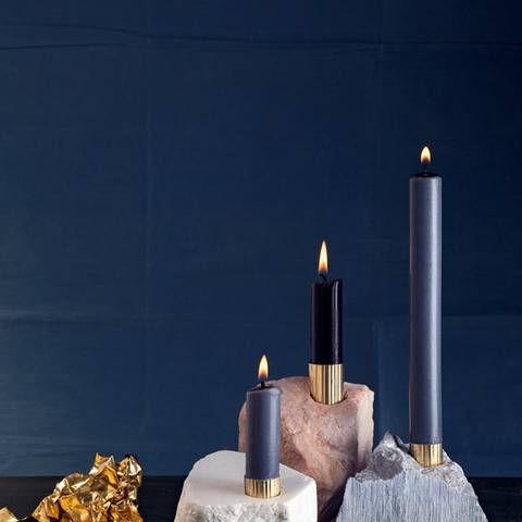 Anleitung: Kerzenständer aus Speckstein selber machen