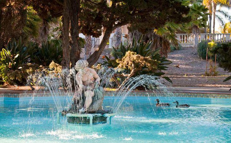 Secret Fountain In Balboa Park