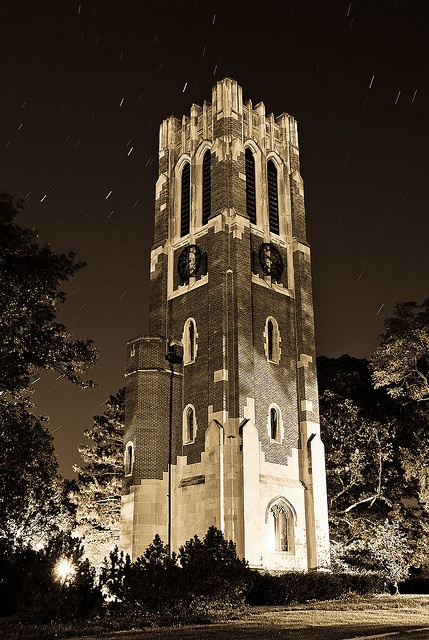Michigan State University - Beaumont Tower at Night