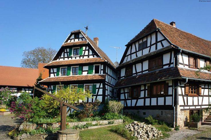 Bienvenue à Hunspach... l'un des plus beaux villages de France !!