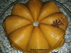 Betty's Cuisine: Χαλβάς σιμιγδαλένιος με σιρόπι πορτοκάλι