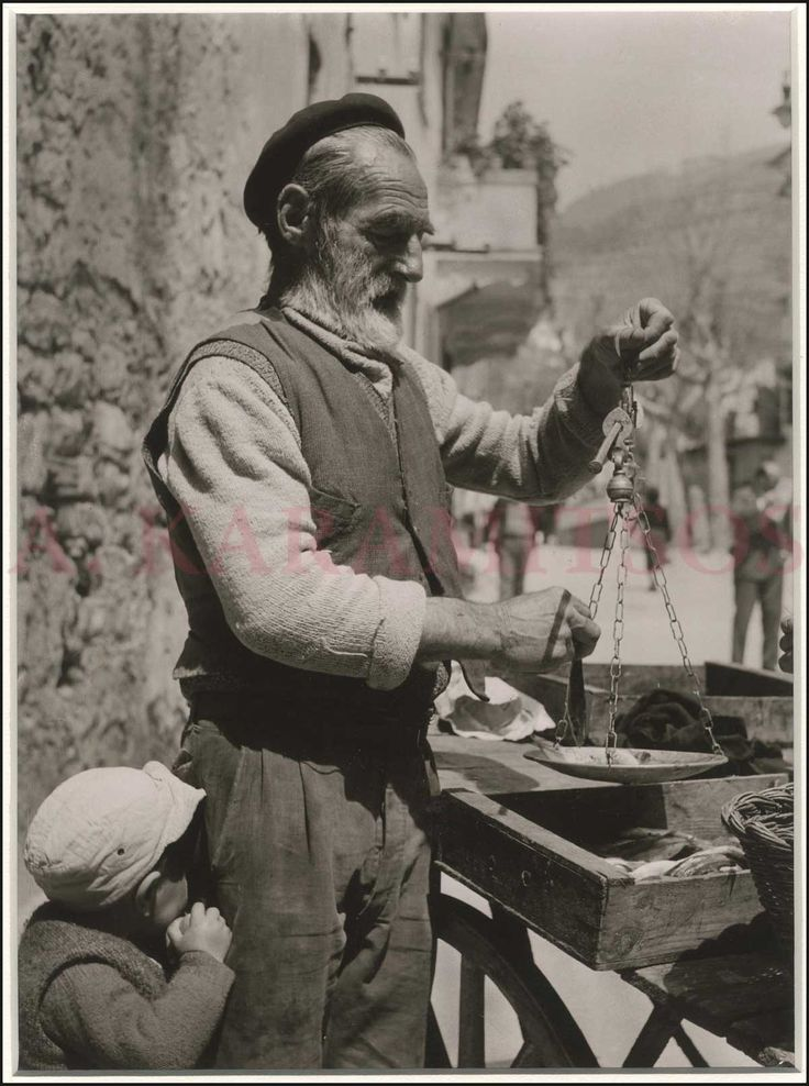 """KILIAN Hannes, RHODES c.1955. Rare collection of 42 original gelatine silver print photographs from Rhodes. These photographs are probably the original portfolio for the publication of the book """"RHODOS [Portrat einer Insel] by Hannes Killian"""""""