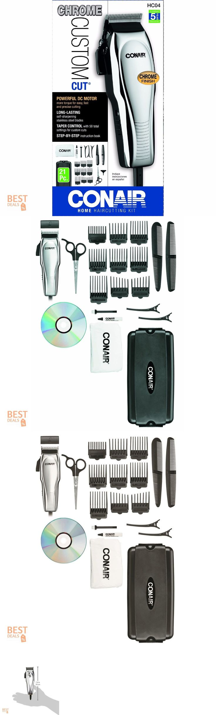 Shaving and Grooming Kits and Sets: Barber Clipper Set Hair Cut Machine Professional Electric Trimmer Kit Beard Care -> BUY IT NOW ONLY: $32.99 on eBay!