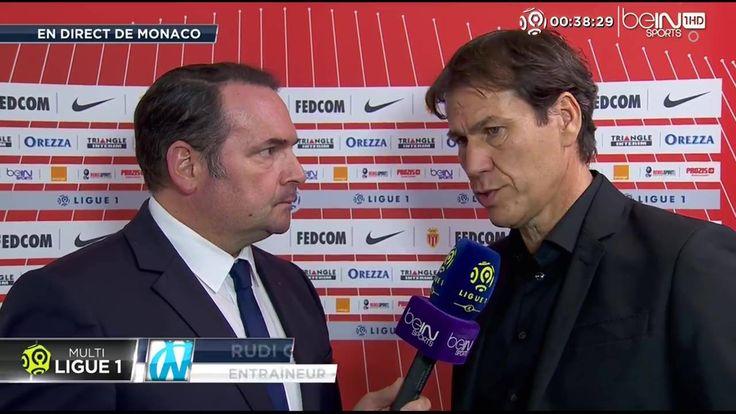 """Rudi Garcia en direct sur beIN SPORTS : """"C'était mission impossible pour nous ce soir"""""""