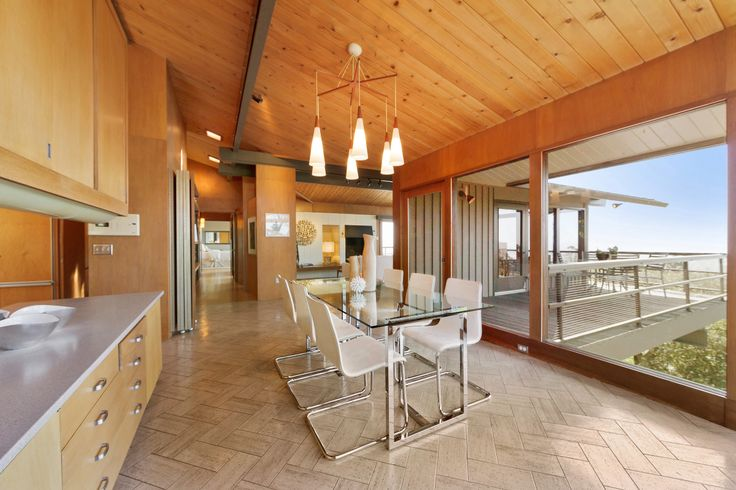 Dining room, with incredible views,  at 6120 Castle Dr. -  www.6120Castle.com