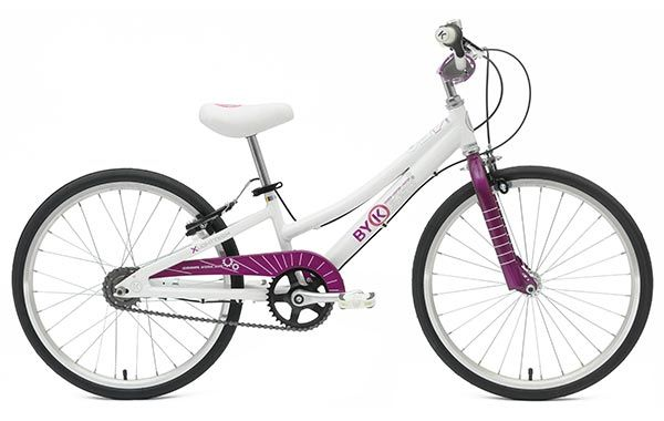 E-450x3i ByK Kids Bike with Internal Gears in Deep Violet - for 5 to 8 Year Olds