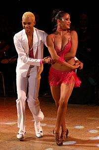 Salsa+Dancers   Salsa dancers Kevin and Sarahi dancing. Reevolution XIII Cali ...