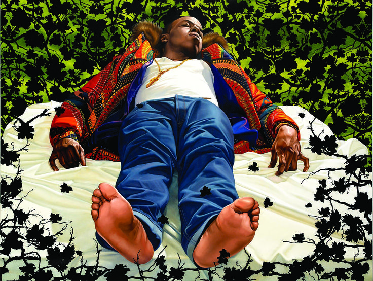 If you haven't seen Kehinde Wiley's work, prepare to be...