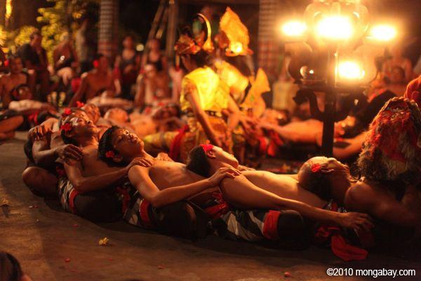 Photo: Balinese Kecack Dance - Indonesia