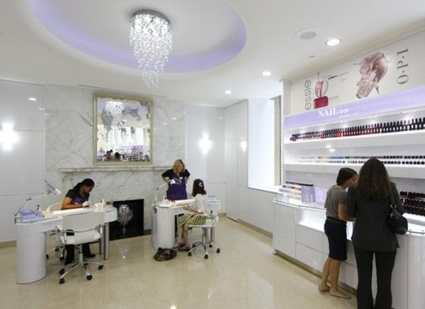 46 best nail salons and decor ideas images on pinterest new yorks new nail bars prinsesfo Image collections