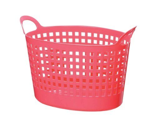 Pink Plastic Laundry Basket Pleasing 21 Best Laundry Baskets Images On Pinterest  Laundry Baskets Check Inspiration